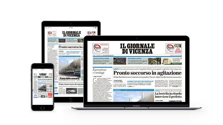 Il Giornale di Vicenza edizione digital