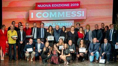 Premiazione «Commessi<br/>dell'anno 2019» - Verona