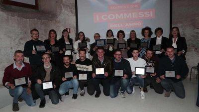 Premiazione «I commessi<br/>dell'anno 2019» - Brescia
