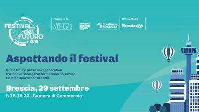 Aspettando<br/>il Festival del Futuro<br/>Brescia